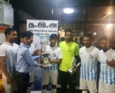 """Il team """"Thaiman"""" si aggiudica il torneo di calcetto in onore di Sivakumar"""