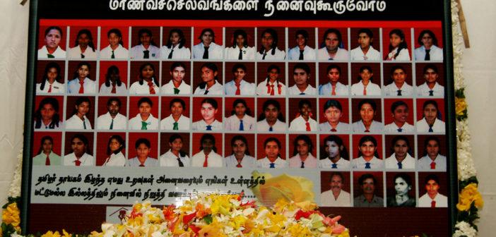 11ème commémoration du massacre de Sencholai