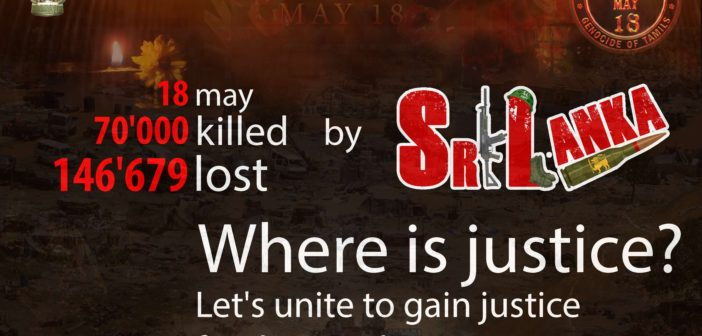 Les plaies ouvertes du génocide tamil