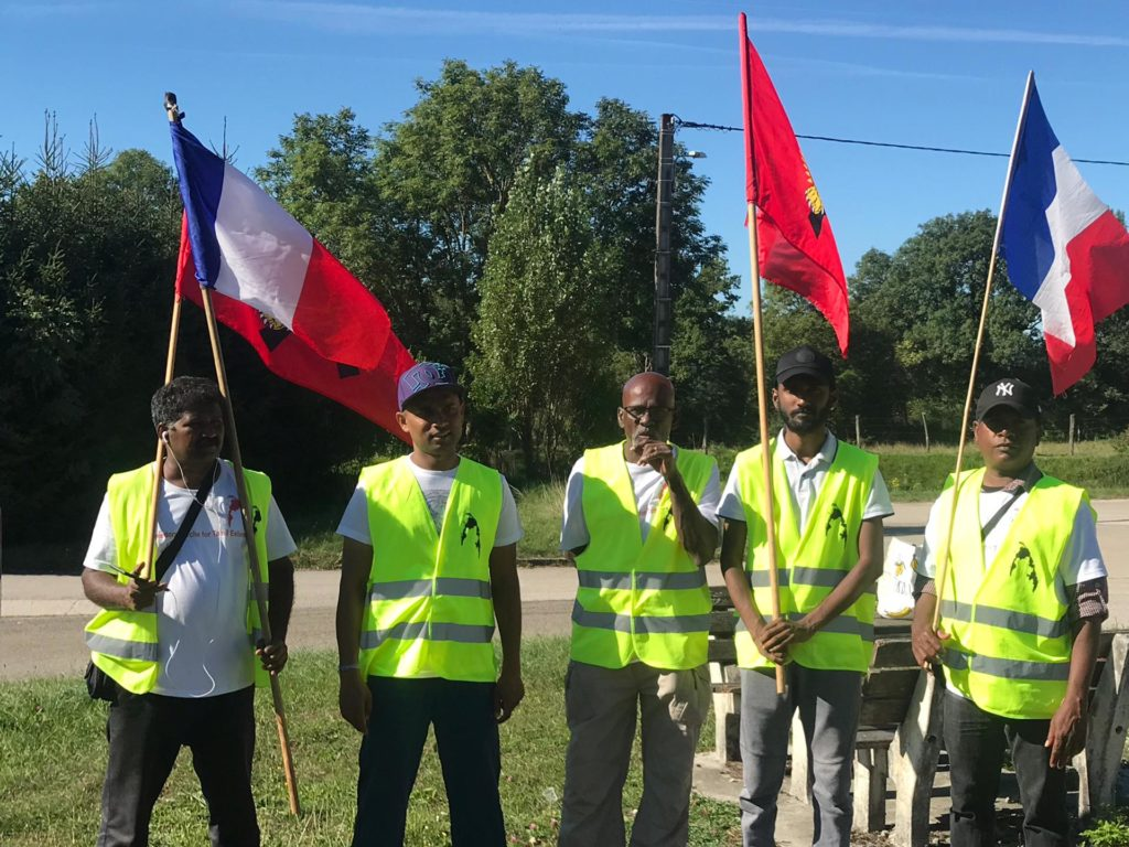 Walking for Justice from Belgium to Geneva